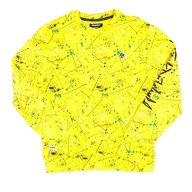 Young Money Trukfit D Splatter Crew Sweatshirt -