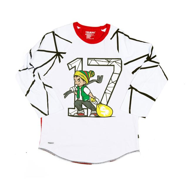 Young Money Trukfit Geo Shatter Raglan Shirt