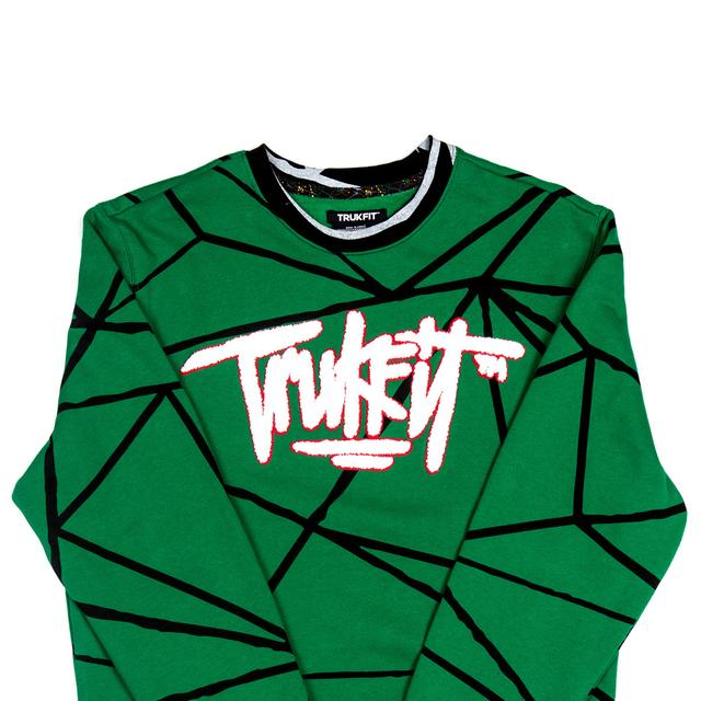 Young Money Trukfit Geo Shatter Crew Sweatshirt