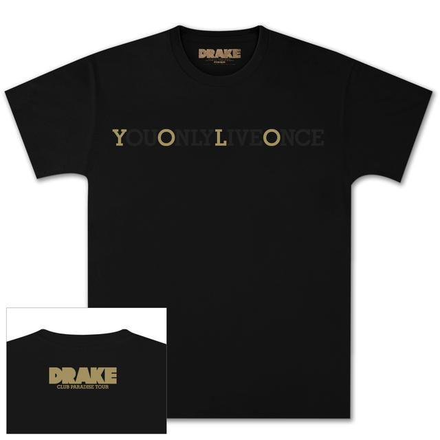 Drake Black YOLO T-Shirt