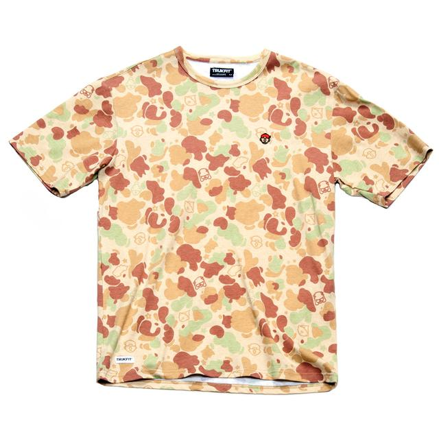 Young Money Trukfit Camo Printed T-Shirt