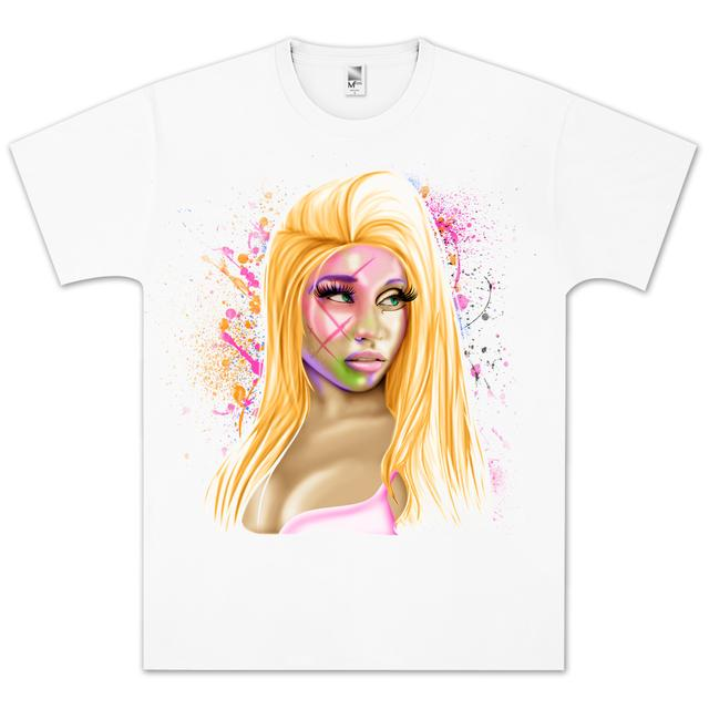 Young Money Nicki Minaj Airbrush T-Shirt
