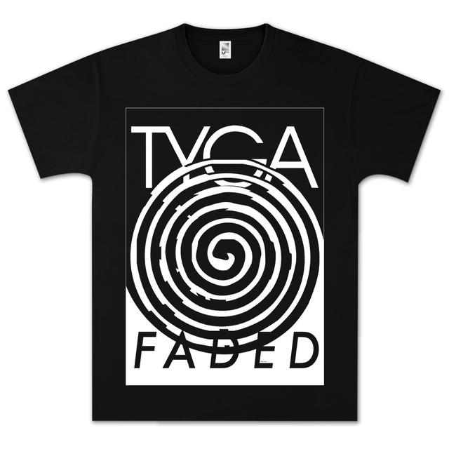 Young Money Tyga Faded Spiral T-Shirt