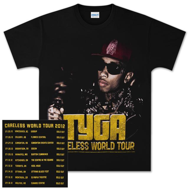 Young Money Tyga Careless Tour T-Shirt