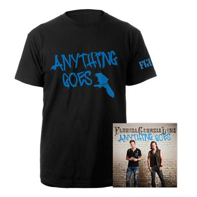 Florida Georgia Line Anything Goes Men's Tee & CD Bundle