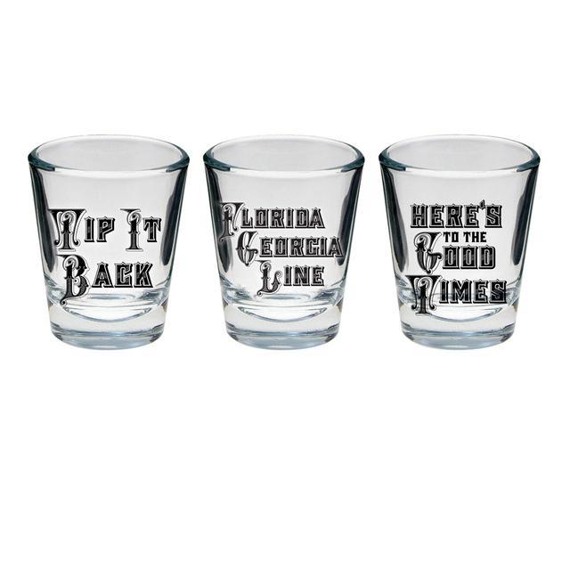 Florida Georgia Line Shot Glass Set of 3