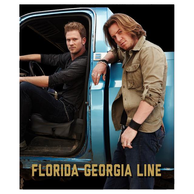 Florida Georgia Line Plush Blanket