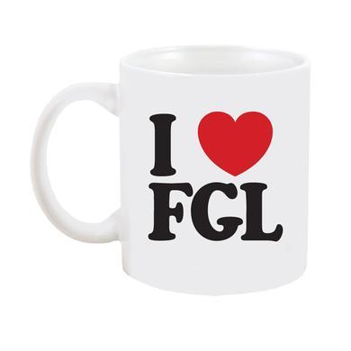 Florida Georgia Line I Heart FGL Mug