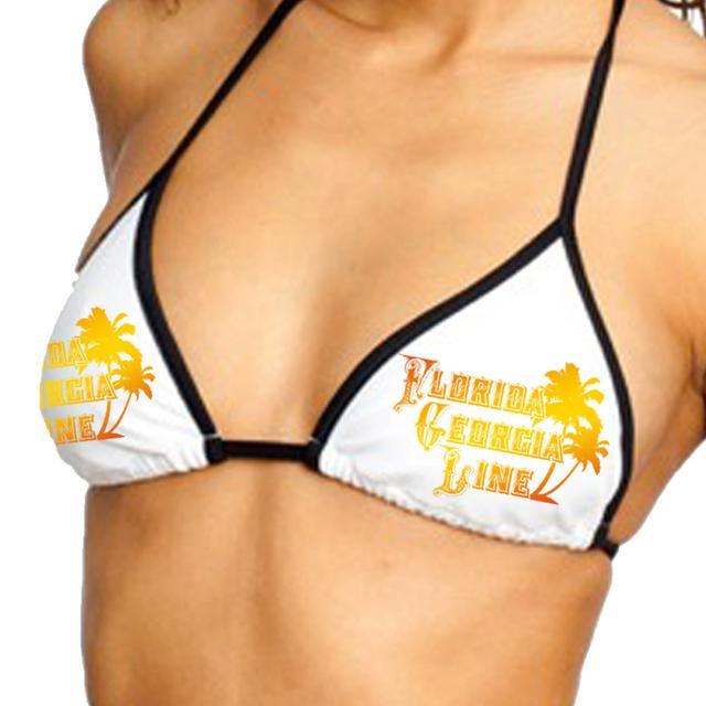 Florida Georgia Line Palm Logo Bikini Top