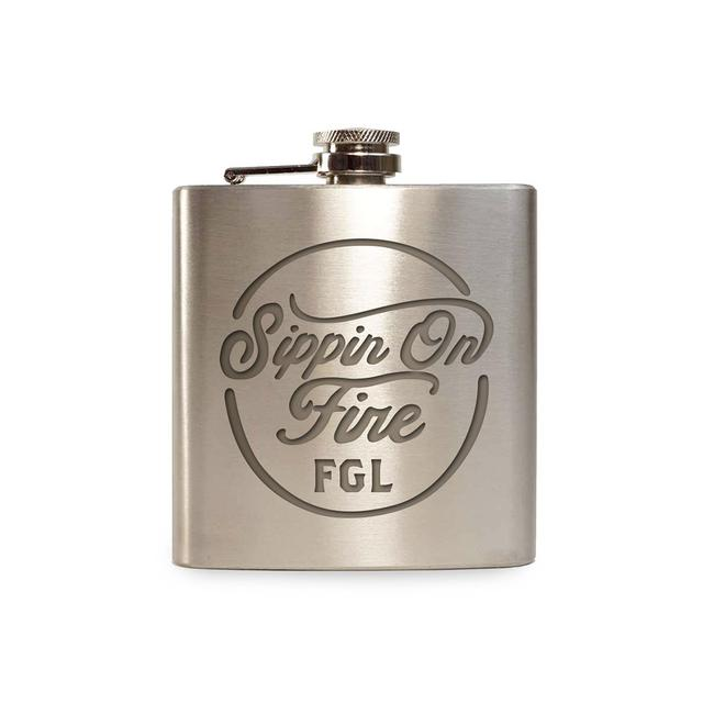 Florida Georgia Line Sippin on Fire Flask