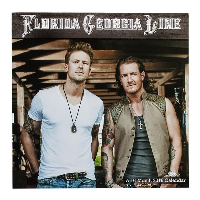 Florida Georgia Line 2016 Calendar