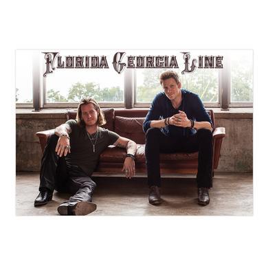 Florida Georgia Line Couch Print