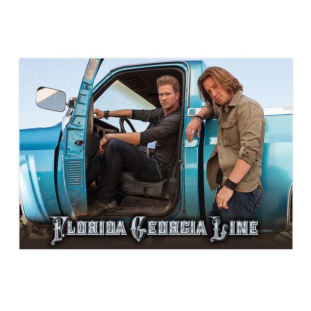 Florida Georgia Line Truck Print