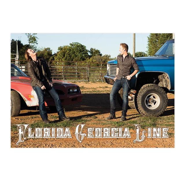 Florida Georgia Line Car & Truck Print
