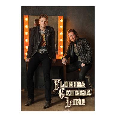 Florida Georgia Line Mirror Print