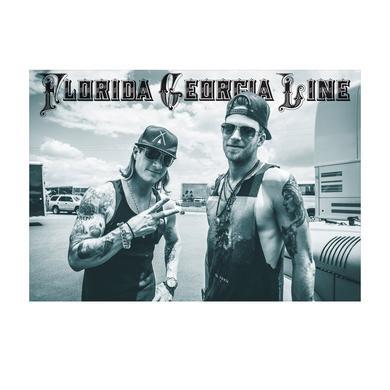 Florida Georgia Line On the Road print