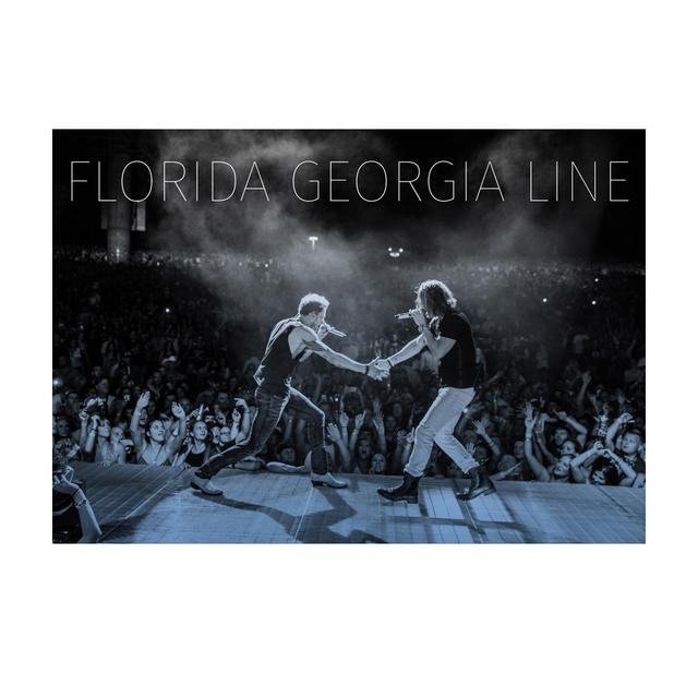 Florida Georgia Line Live at the Concert Print