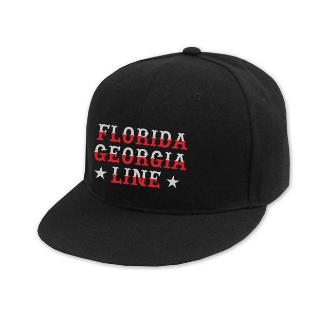 Florida Georgia Line Star Fitted Hat