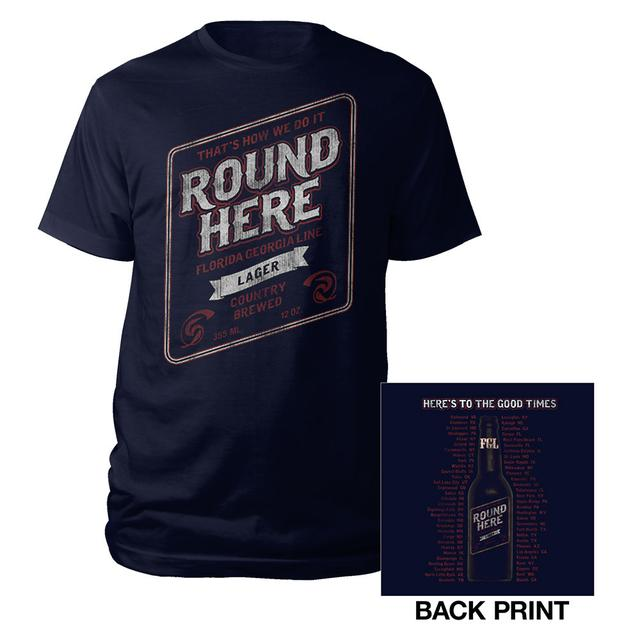 Florida Georgia Line Round Here Tour Tee