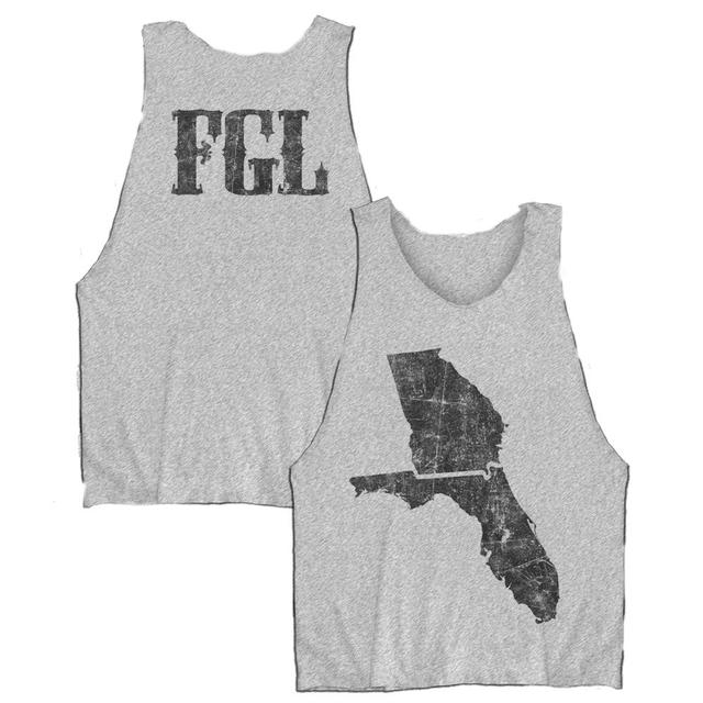 Florida Georgia Line State Map Tank Top