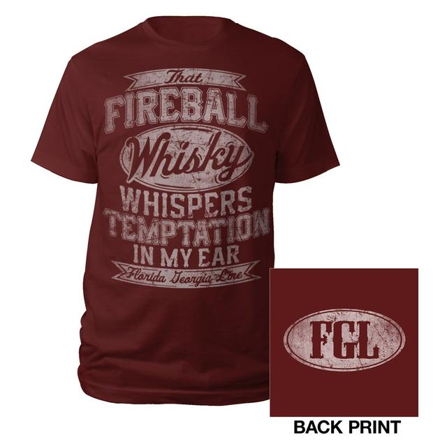 Florida Georgia Line Fireball Whisky Tee