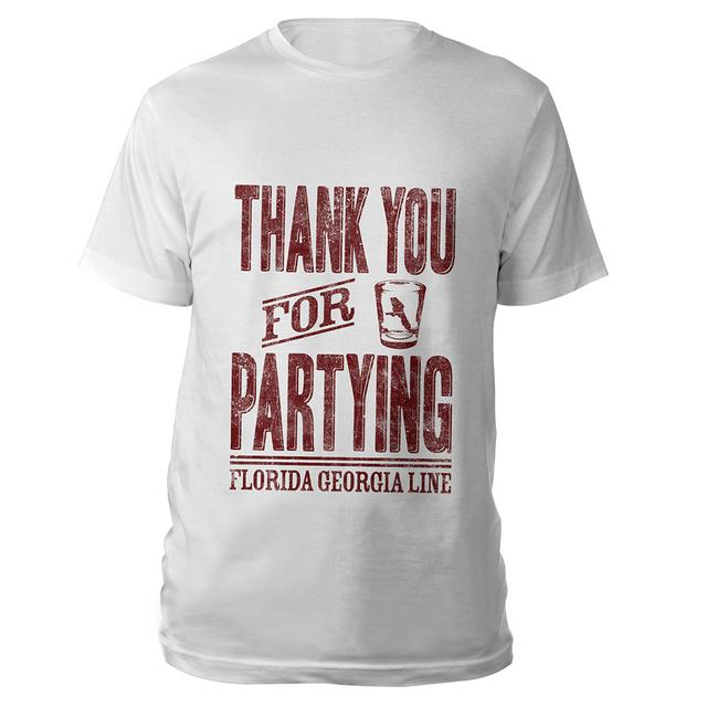 Florida Georgia Line Thank you for Partying Shirt