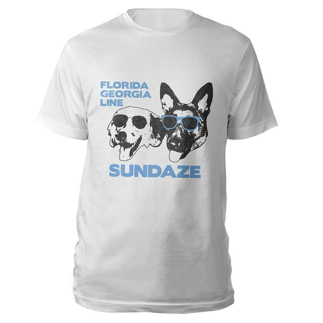 Florida Georgia Line Sundaze Dogs Tee