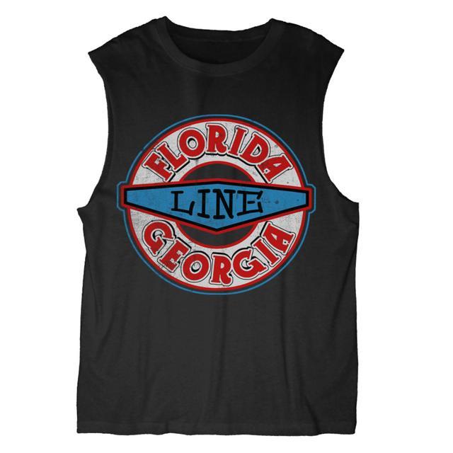 Florida Georgia Line Logo Muscle Tank
