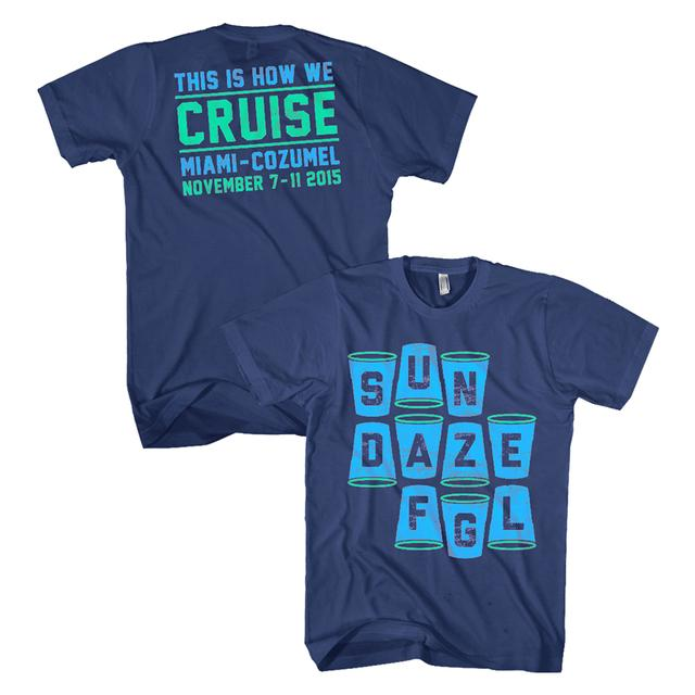 Florida Georgia Line SunDaze Cups Cruise Tee
