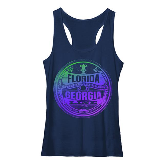 Florida Georgia Line Electric Record Design Tank Top