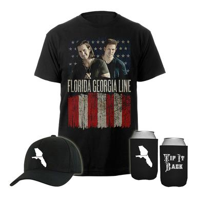 Florida Georgia Line Exclusive Flag Tee Bundle