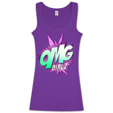 OMG GIRLZ Purple Tank Top