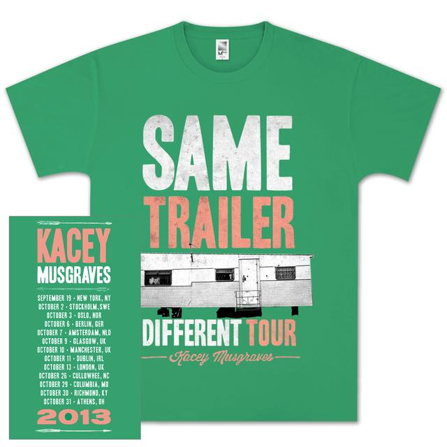 Kacey Musgraves Same Trailer Tour T-Shirt