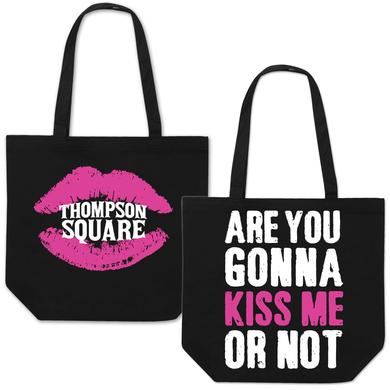 "Thompson Square ""Are You Gonna Kiss Me or Not"" Tote"