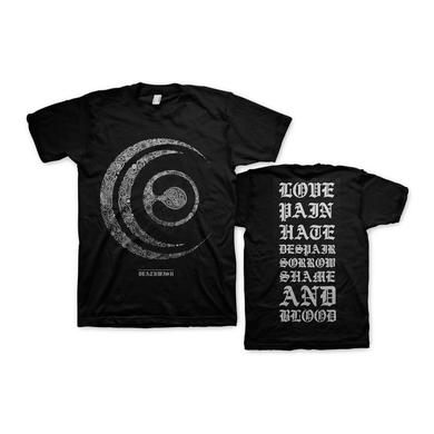 Crossfaith Paisley T-Shirt