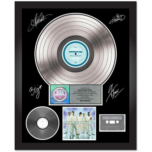 Backstreet Boys Millennium Autographed Platinum Album
