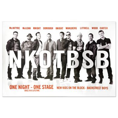 Backstreet Boys NKOTBSB Poster