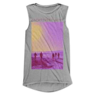 Backstreet Boys Sunset Fade Ladies Tank