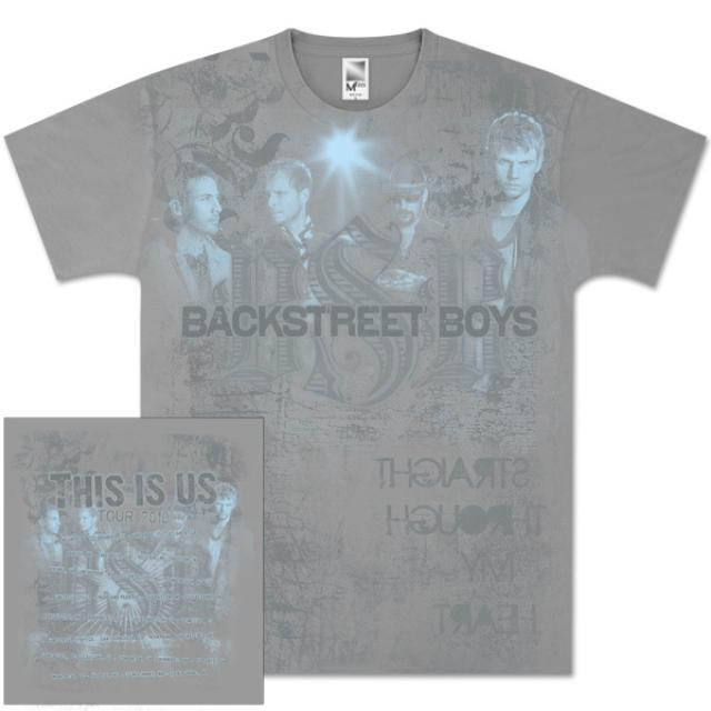 Backstreet Boys Distressed Tour T-Shirt