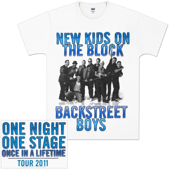Backstreet Boys NKOTBSB One Night T-Shirt