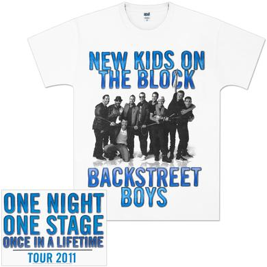 Backstreet Boys NKOTBSB One Night T-Shirt