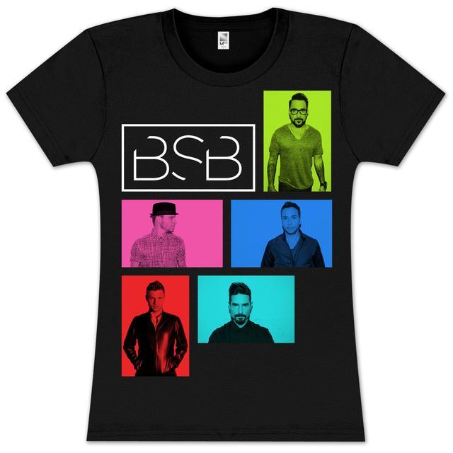 Backstreet Boys Color Screen Junior T-Shirt