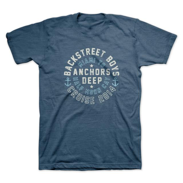Backstreet Boys Half Moon Indigo T-Shirt