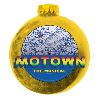 Motown The Musical Gold Record Ornament