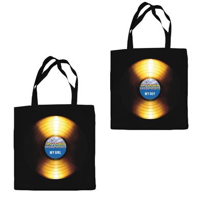 Motown The Musical Golden Record Canvas Tote Bag