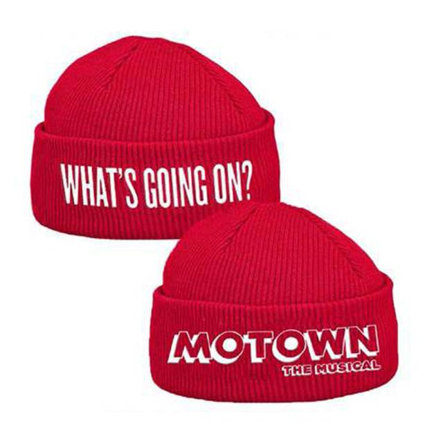 Motown The Musical What's Going On Motown Red Beanie