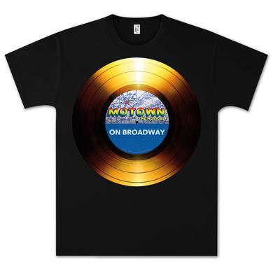 Motown The Musical Motown on Broadway Large Logo T-Shirt