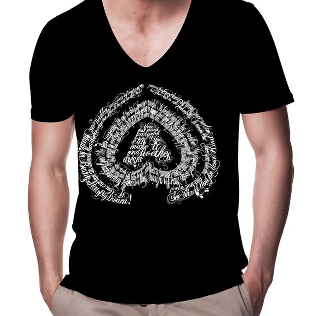 Axwell V-Neck Thank You Notes T-Shirt