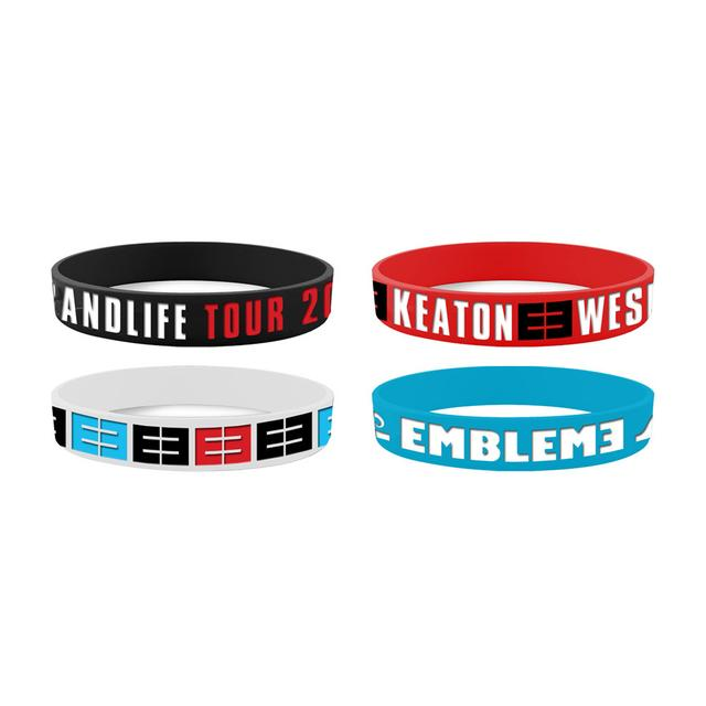 Emblem3 Tour  Wristbands