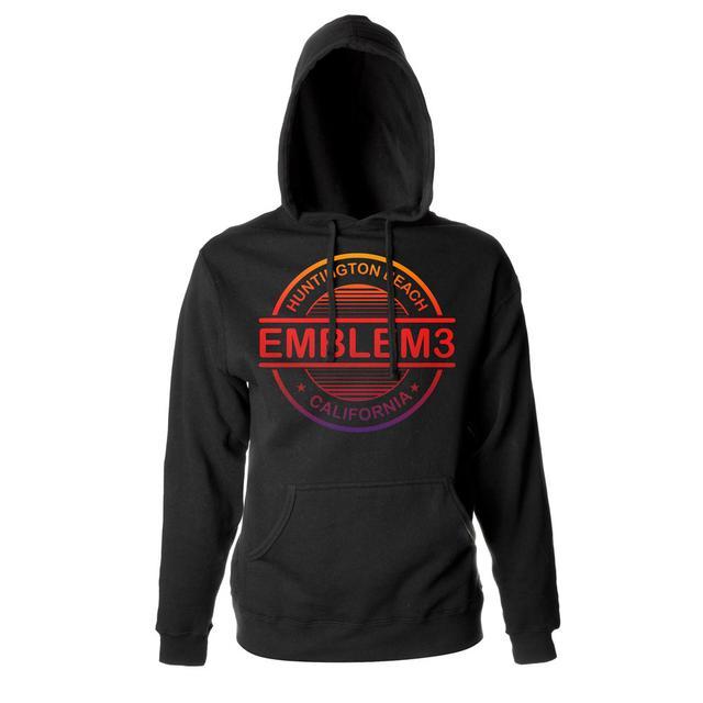 Emblem3 Circle Logo Pullover Hoodie